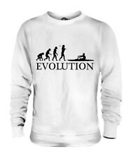 ROWING EVOLUTION OF MAN UNISEX SWEATER MENS WOMENS LADIES GIFT CLOTHING ROWER