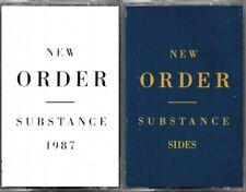 New Order | Substance 1987 & New Order | Substance Sides RARE OOP 2 Cassette Set