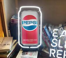 NEON LIGHT PEPSI COLA COKE CAN BEER BAR CLUB IPHONE CASE VINTAGE BOTTLE SIGN