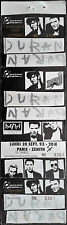 *** DURAN DURAN *** complete, untorn, unused concert ticket 1993 - Paris, France