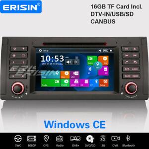 BMW 5er E39 X5 E53 M5 DAB+ Autoradio Navi Canbus TNT USB DVD Bluetooth RDS iPod