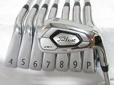 Used Titleist AP3 718 Iron Set 4-P,48* AMT Black Regular Flex Steel Shafts