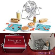 American Girl Melody's Block Party Set Bingo Game Pie Hot Dogs NEW
