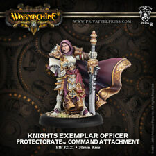 Warmachine Protectorate of Menoth Knights Exemplar Officer PIP32121 NEW