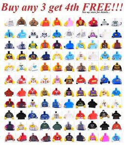 ☀️NEW Lego PICK YOUR TORSO body Minifigure minifig figure bulk Lot Parts Pieces