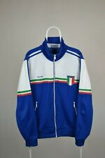 MENS ITALY ITALIA 1982 WORLD CUP FUTBOL SOCCER 2010 ADIDAS TRACK JACKET SIZE L