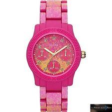 NEW! Guess Funfetti Pink Strap Pink Dial W0944L3 Ladies Watch RRP £159