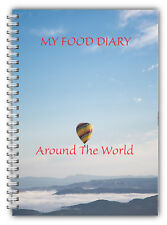 A5 DIET DIARY SLIMMING TRACKER FOOD DIARY WEIGHT LOSS JOURNAL AROUND THE WORLD