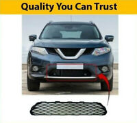 2014-2017 Fits Nissan X-Trail Front Lower Centre Bumper Grille New High Quality