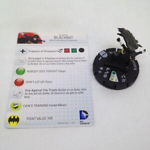 Heroclix Batman set Blackbat (Cassandra Cain) #010 Common figure w/card!