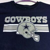 Dallas Cowboys NFL Football Women's Short Sleeve T Shirt Large L Crewneck Logo