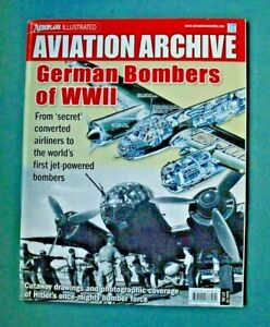 Aviation Archive WWII German Bombers of World War 2(Free UK Post)