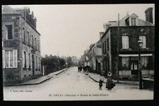 Carte postale ancienne Ducey (Manche) Route de Saint-Hilaire