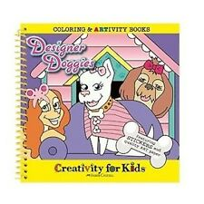 Designer Doggies Color & Activity Book by Creativity for Kids