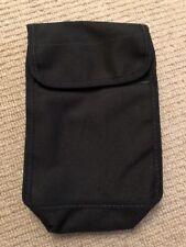 "Ex Police Black Document Pouch For 2"" Kit Belt. 733."
