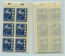Lithuania, 1937 Sc 304 Mnh, block of 6. rta8042