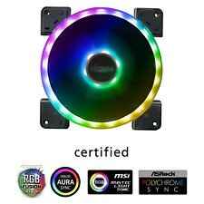 Akasa Vegas TLX 120mm 1500RPM Dual Sided Addressable RGB LED Fan, AK-FN101