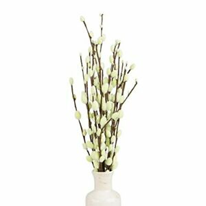 Decorative Branches, Pussy Willow Tree Branches (19 inches), Artificial Branc...