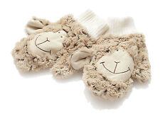 Hansen Ovis Plüsch Schaf Kinder Handschuhe Kinderhandschuhe braun Lamm weich