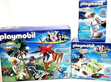 Playmobil LOT: Lost Island Alien Raptor 6687 SkyJet Technopolis 6690 Dr X 6691 +