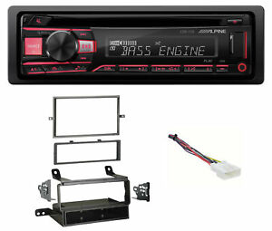 ALPINE CD Receiver Stereo Android/MP3/WMA/USB/AUX For 12-15 Nissan Frontier S