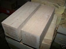 TWO LARGE CHERRY TURNING BLOCKS LATHE BLANKS WOOD LUMBER 4 X 4 X 11""