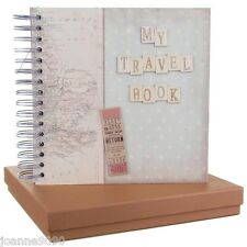 EAST OF INDIA BOXED TRAVEL MEMORY POCKET BOOK HOLIDAY JOURNAL SCRAPBOOK GIFT