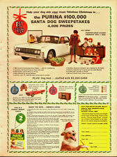 1964 Vintage ad for The Purina Santa Dog Sweepstakes/Purina Dog Chow (083013)
