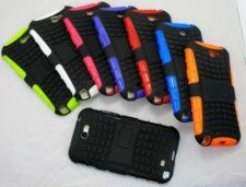 For Samsung Galaxy Note 2 Heavy Duty Strong Tough Tradesman TPU Case Cover Stand