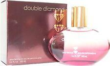 Double Diamond Perfume For Women - 3.4 oz Eau De Parfum Spray New In Box