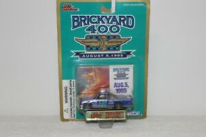 RACING CHAMPIONS BRICKYARD 400 INDY NASCAR AUGUST 5 1995 RACE
