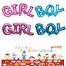 Boy/Girl Foil Helium Balloon for newborn Baby Shower Christening Birthday Party
