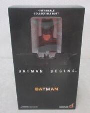 NEW RARE Hot Toys 1/4 Bust Batman Begins Batman HTB03b Japan 2500 pcs worldwide