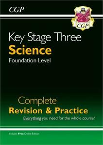 KS3 Science Complete Revision & Practice - Foundation (with Onl... 9781789080674