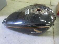 1980 80 Honda CX500C Custom Motorcycle Gas Tank Fuel Petrol Black SW45