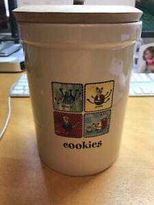 Heavy Round Biscuit / Cookie Storage Jar H17xW12 1100 grams