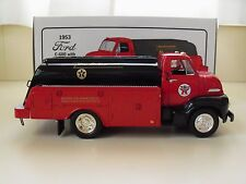 FIRST GEAR - TEXACO / STAR ENTERPISE - 1953 FORD C-600 WITH TANKER BODY - 1/34