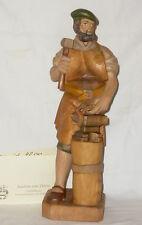 Joachim von Zülow Geschnitzte Holzfigur Holz Schmied Bodenmais Figur carved wood