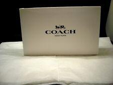 Coach White gift Coach  Box and Tissue