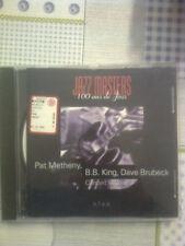 JAZZ MASTERS 100 ANS DE JAZZ - METHENY,B.B. KING, BRUBECK - CD