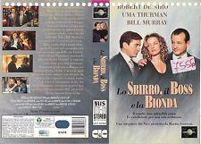 LO SBIRRO, IL BOSS E LA BIONDA (1993) vhs ex noleggio
