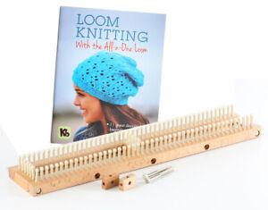 "KB Loom 18"" All 'N One Authentic Knitting Board +  Loom Book"