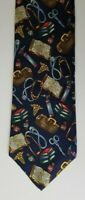"Alynn Neckwear ""Is There a Doctor in the House?"" 100% Silk Men's Necktie NWOT"