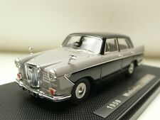 WOLSELEY 15/60 RIGHT HAND DRIVE GREY/BLACK 1959 SILAS MODELS SM43017A 1:43