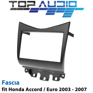 Dash Mat Suit Honda Accord CL9 Euro 7//2003-1//2007 AUSTRALIAN MADE