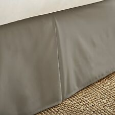 Hotel Quality Premium Pleated Bed Skirt Dust Ruffle by The Home Collection