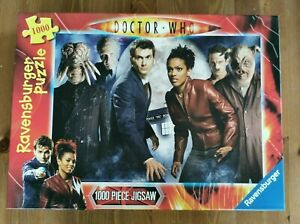 Ravensburger Doctor Who 1000 piece jigsaw puzzle