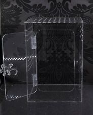 Clear Acrylic Reptile Enclosure 220x220x320mm
