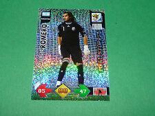 ROMERO GOAL ARGENTINA PANINI FOOTBALL FIFA WORLD CUP 2010 CARD ADRENALYN XL