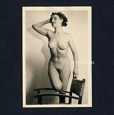 #297 RÖSSLER AKTFOTO / NUDE WOMAN STUDY * Vintage 1950s Studio Photo - no PC !